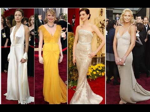 The 19 Best Oscar Dresses of All Time - YouTube