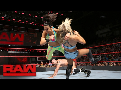 Cesaro, Sheamus & Bayley vs. Luke Gallows, Karl Anderson & Charlotte Flair: Raw, Jan. 30, 2017