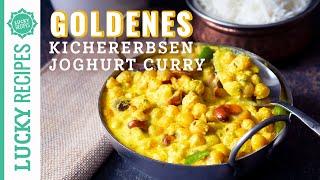 Goldenes Kichererbsen Curry aus dem Himalaya - Chana Madra