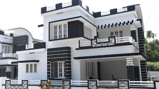 Athani, 5 cents plot and 1750 sq ft, modern style house ( SOLD )