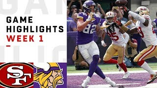 49ers vs. Vikings Week 1 Highlights | NFL 2018