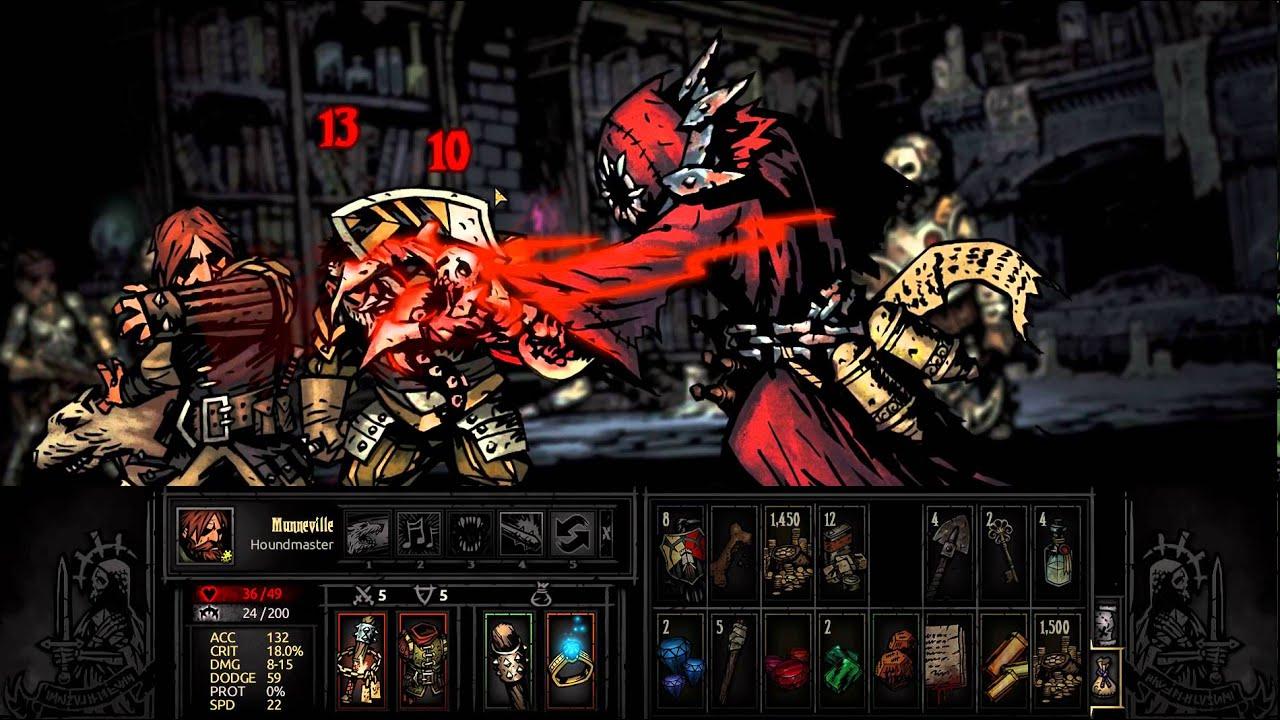 Darkest Dungeon Necromancer Lord Champion Level Necromancer Boss Youtube