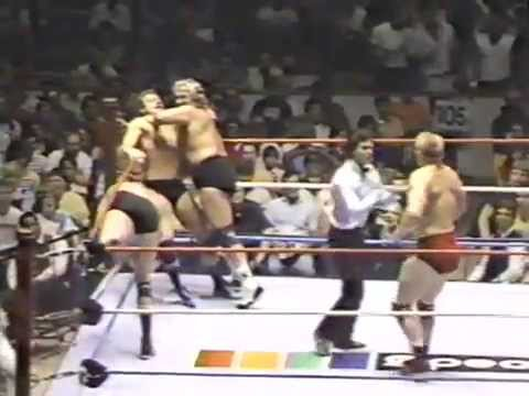 Adrian Adonis & Dick Murdoch vs Bob Backlund & Brian Blair