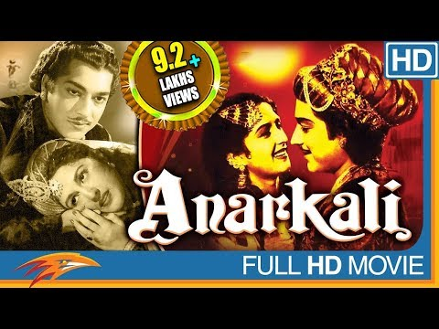 Anarkali Hindi Full Movie HD || Pradeep Kumar, Bina Rai, Noor Jehan || Eagle Hindi Movies