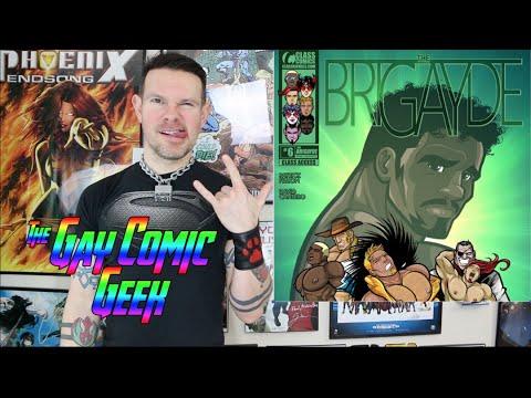 The BriGAYde 6 Class Comic Gay Comic Book Review SPOILERS