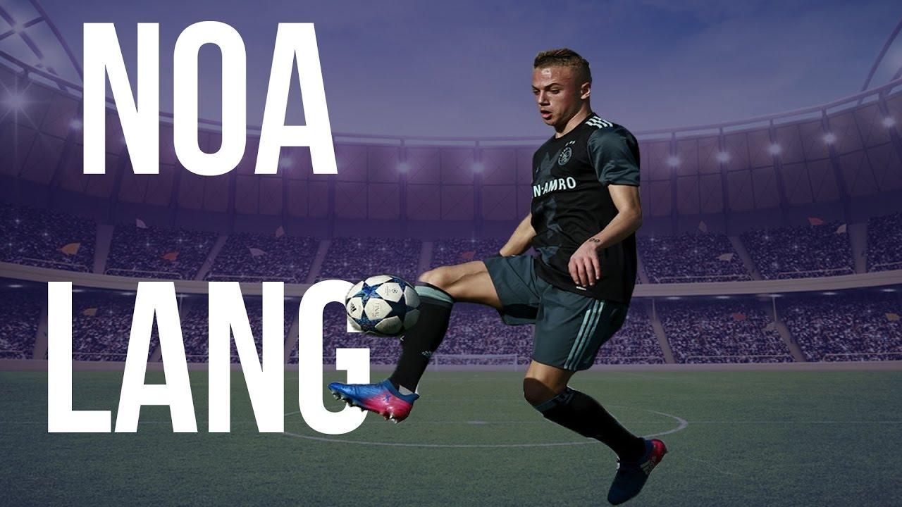Noa Lang Goals Skills And Assist 2016 Ajax U19