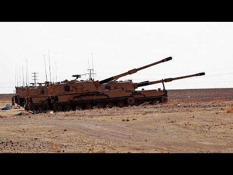 Forças sírias avançam para Kobani