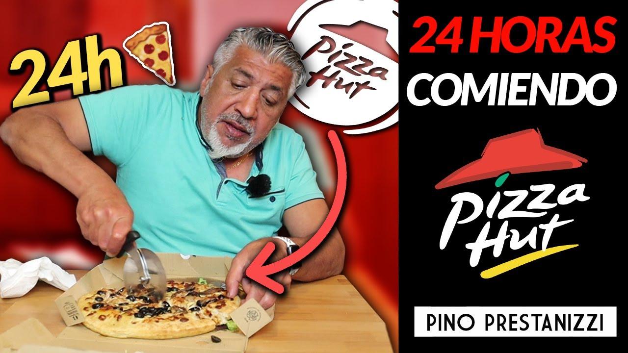 24h comiendo PIZZA HUT | Pino Prestanizzi