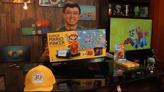 Unboxing Bundle Super Mario Maker + Wii U + amiibo (Deluxe Set)