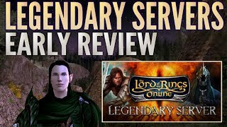 LOTRO Legendary Servers - Review and First Impressions (Anor Warden Gameplay)