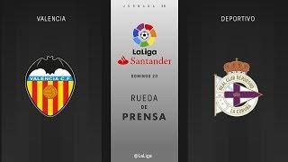 Valencia CF 2 - 1 Deportivo La Coruna