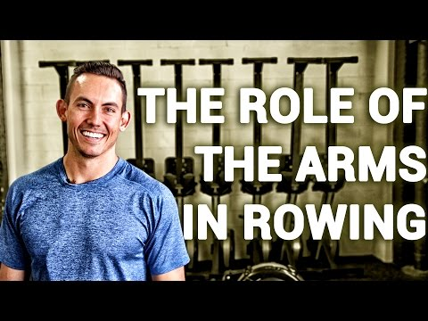 The Role of Your Arms in Rowing