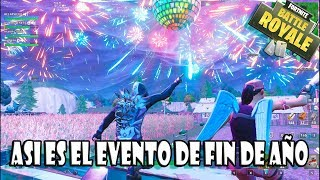 FORTNITE *YEAR'S EVE EVENT* IN REAL TIME ? ARTIFICIAL FIRES *SEASON 7*