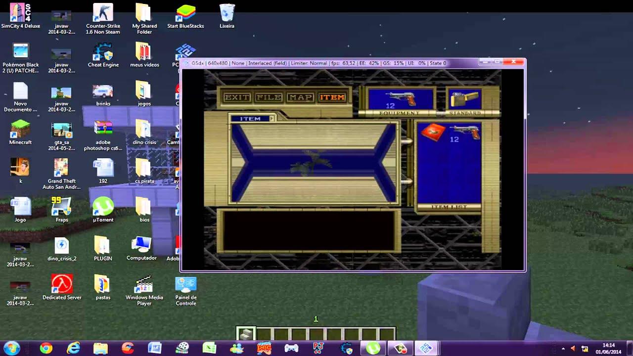 Como colocar item de cura e munição infinita no Resident Evil Code Veronica  by Robert Games e Hacks
