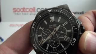 Casio Erkek kol saati Duro MTD-1075BK-1A1 inceleme ayarlama