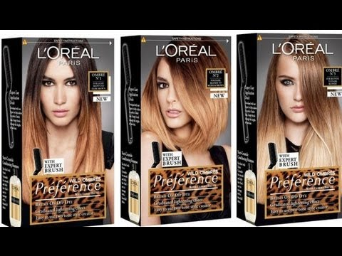 Ombre Hair L Oreal Preference Wild Ombre Youtube