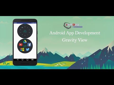 Android Studio Tutorial - Cursor Wheel Layout