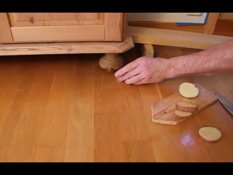 Superb How To Easily Move/Slide Heavy Furniture With A Potato
