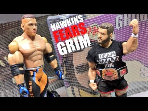 WWE ACTION INSIDER: CURT HAWKINS (BRIAN MYERS) WRESTLING FIGURE REVIEW