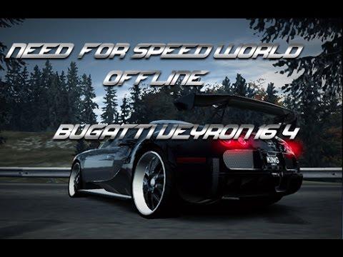 need for speed world offline beta bugatti veyron 16 4. Black Bedroom Furniture Sets. Home Design Ideas