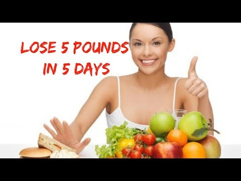 Lose 5 Pounds In 5 Days – Easy Ways to Lose Weight At Home!
