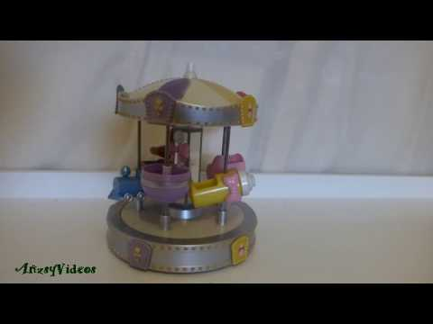Wind Up Musical Merry Go Round Carousel MGA 5 Sies