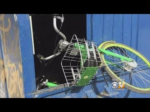 Bike Sharing Causing Issues In Downtown Dallas