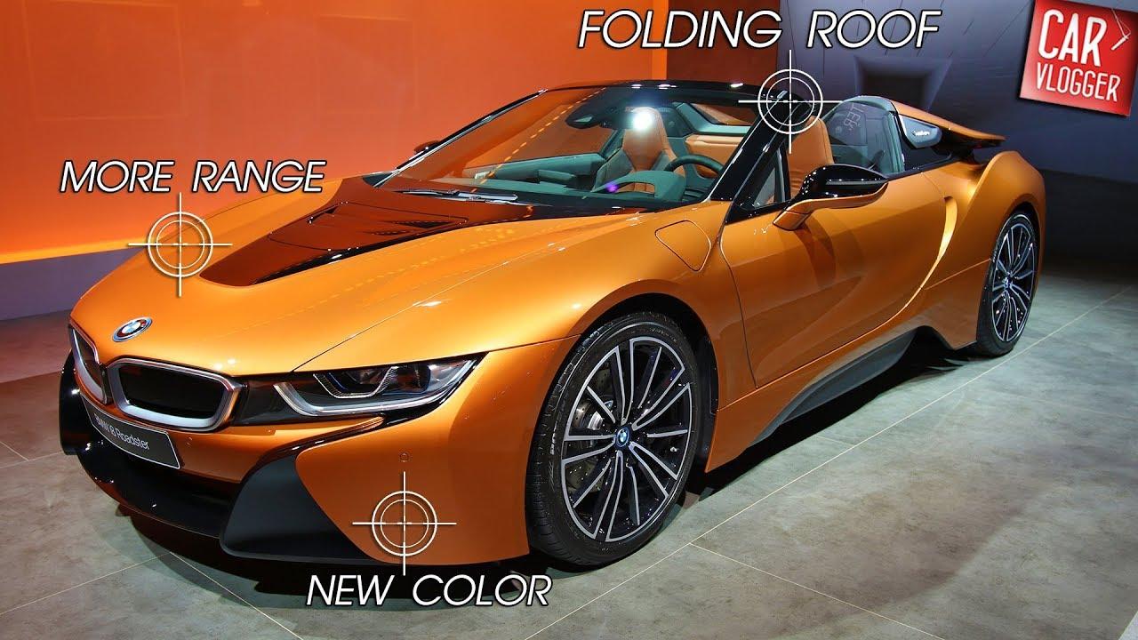 Inside The New Bmw I8 Roadster 2018 Interior Exterior Details