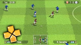 Pro Evolution Soccer 5 PPSSPP Gameplay Full HD / 60FPS