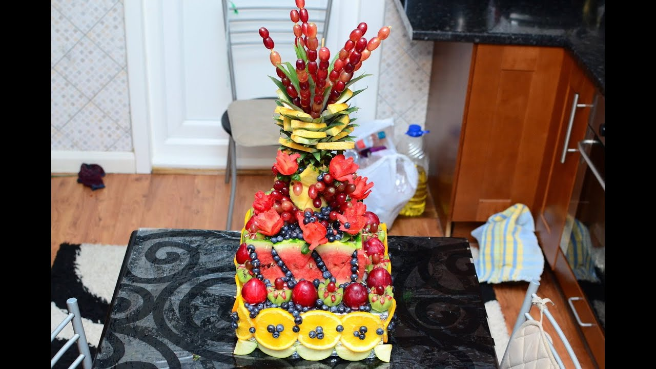 How To Make A Stunning Fruit Platter In The Shape Of A