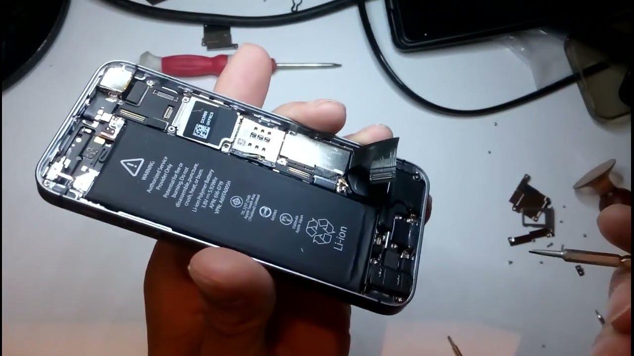 iphone 5s инструкция по разборке