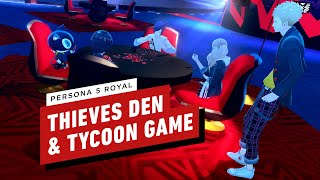 Persona 5 Royal Gameplay: Thieves Den And New Tycoon Card Game in 4K