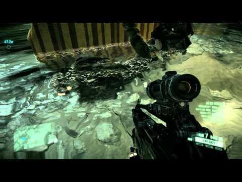 Crysis 2 Funny glitch