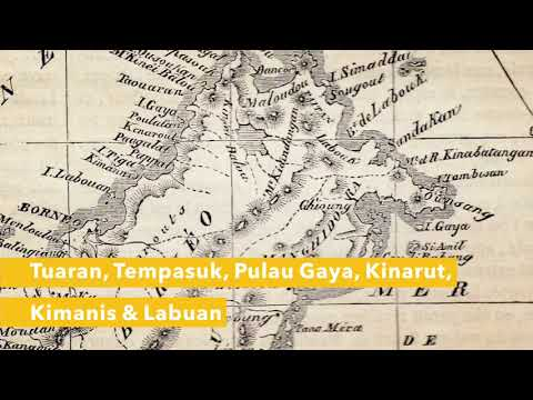 500 Years of Maps of North Borneo (Sabah)