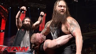 """Download Tensions rise as Roman Reigns and Brock Lesnar appear on """"The Highlight Reel"""": Raw, January 18, 2016 Mp3 and Videos"""