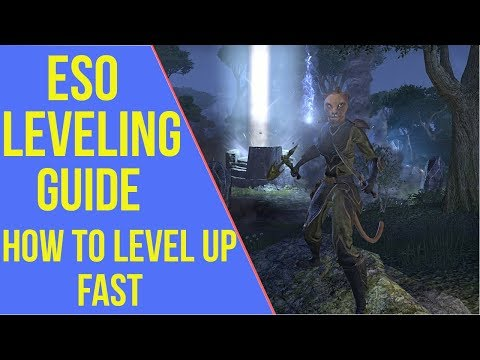 ESO Leveling Guide 1-50 | How to Level Up Fast 2019 - YouTube
