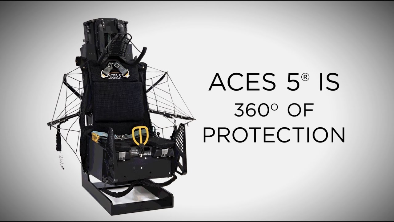 ACES 5® Next Generation Ejection Seat - YouTube