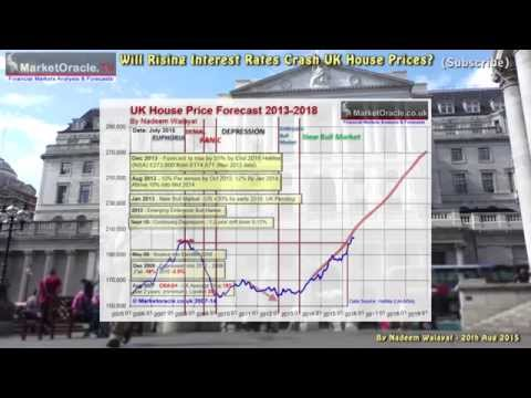 Will Rising Interest Rates Crash UK House Prices?