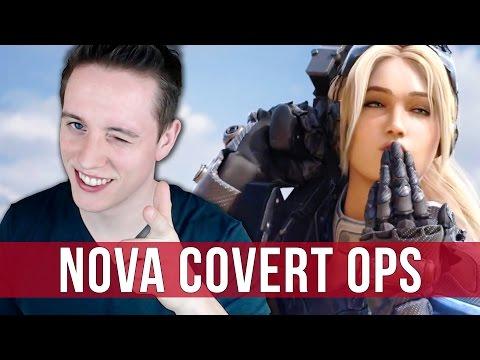 StarCraft 2: Nova Covert Ops Gameplay on Brutal - The Escape! (Mission 1)