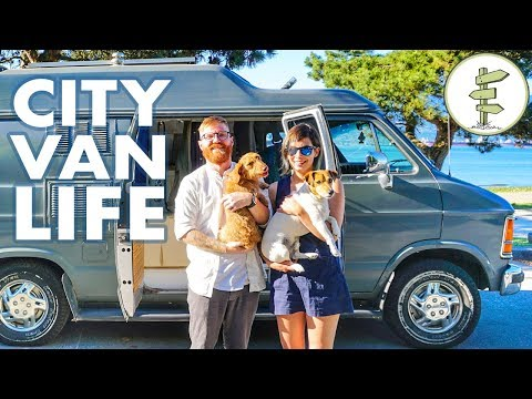 Van Life - Couple Saves $18,000 a Year by Living in a Camper Van