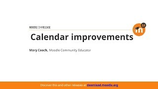 Calendar Improvements In Moodle 3.4 thumbnail