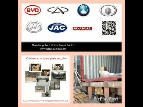 Finally find the supplier for Chinese auto spare parts