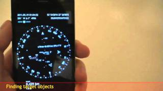 Spyglass 3.3 ~ AR Gyrocompass And Moon (iPhone)