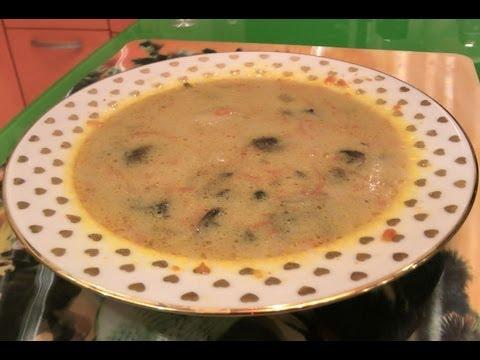 Рецепт Сырный суп рецепт с плавленным сыром  Сырный суп с грибами  Сырный суп в мультиварке