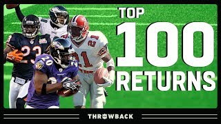 Top 100 Returns in NFL History!
