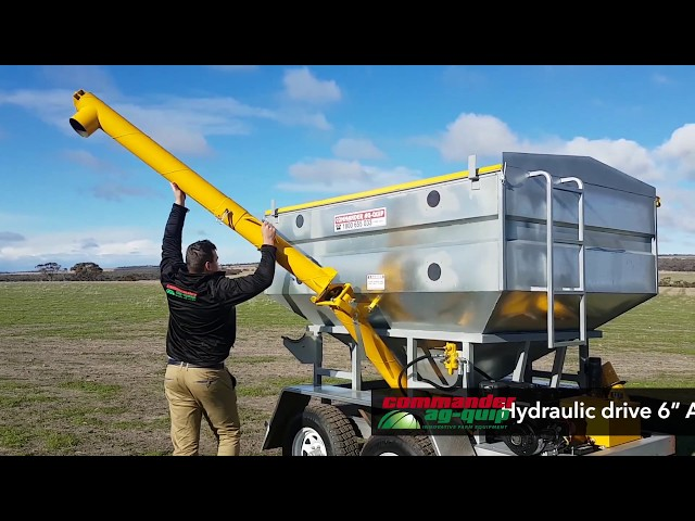 Commander Ag-Quip Feed-Out Bin