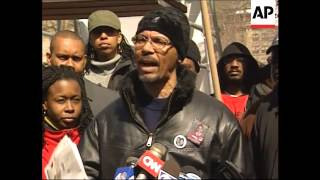 Protest after NY police officers charged in Sean Bell shooting death