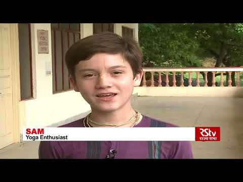 India is a land of spirituality and Yoga, foreign nationals tell RSTV