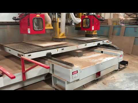 LIH WOEI wood working CNC machinery TWIN TABLE FOR 1600X2400 WORKING AREA-2