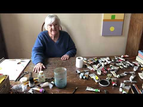 Etel Adnan(6): 7 answers in less than one minute